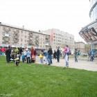 Открытие нового торгового центра Вертикаль11