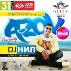 31 марта SEXON preparty A-ZOV FEST DJ NIL!!